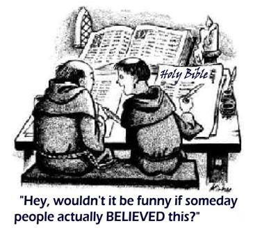 funny people belive bible