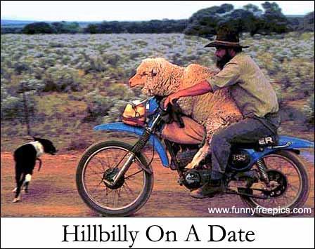 hillbilly on a date