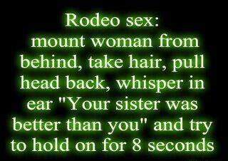 rodeo sex