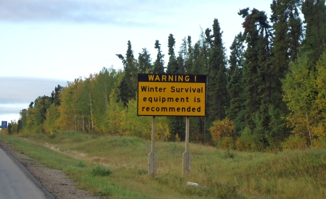 HWY 6 THOMPSON, MANITOBA THEY MEAN IT