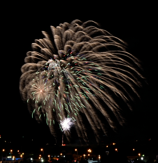 CANADA DAY JULY 1ST 2014 FIREWORKS - 2