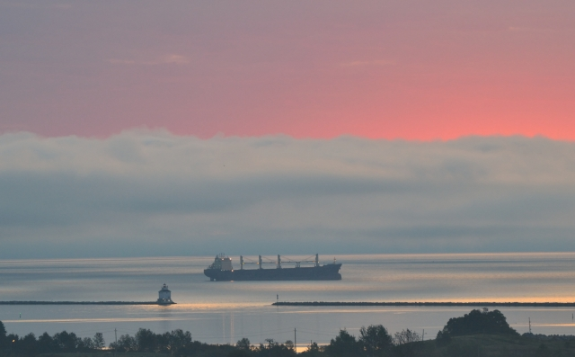 PINK SUNRISE FOG BANK ANCHOR