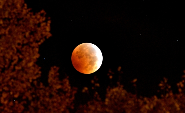 Lunar eclipse October 8, 2014