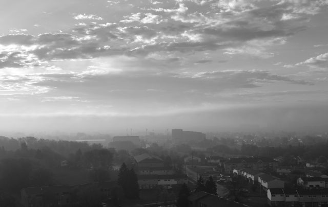 MISTY BLACK & WHITE Sometimes, things just look better in B&W.