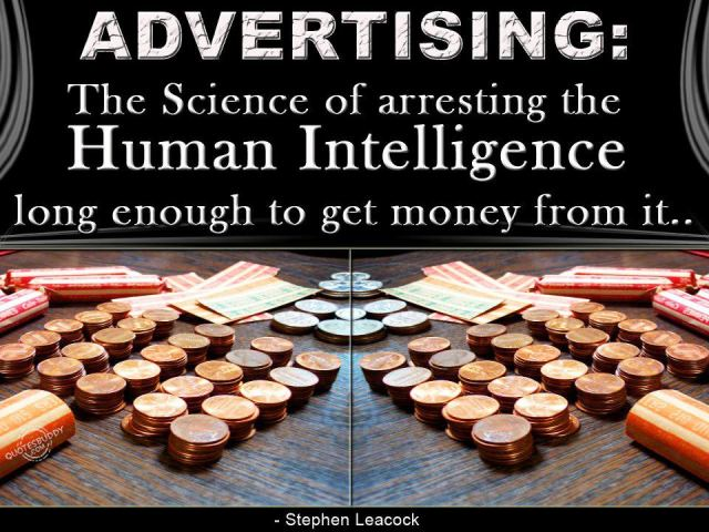 advertising arrest intelligence get money