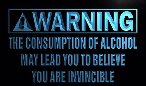alcohol invincible