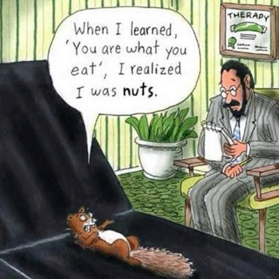 are what we eat nuts