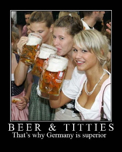 beer tits Germany superior