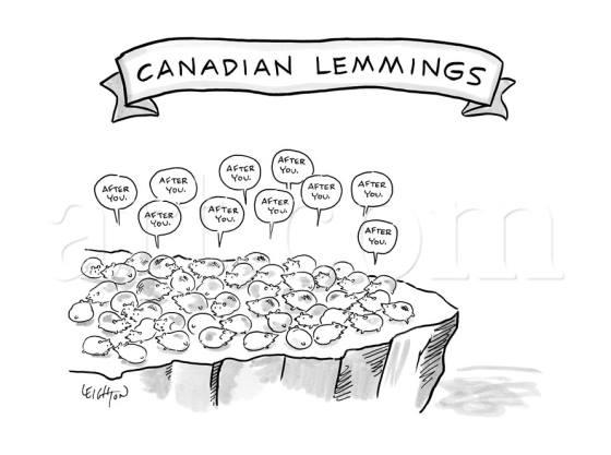 Canada 2 lemmings