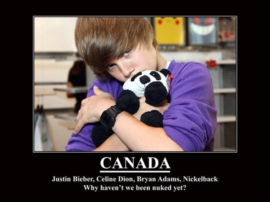 Canada no nuked yet