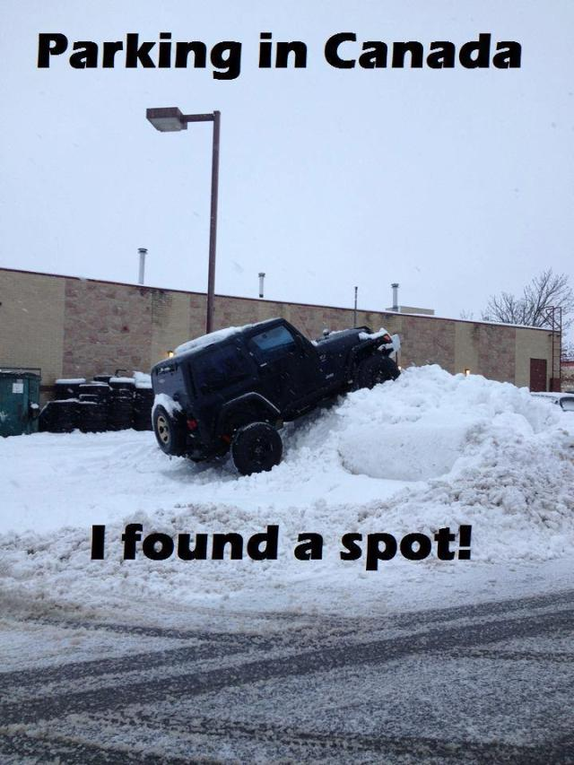 Canada parking