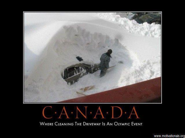 Canada shovel driveway sport