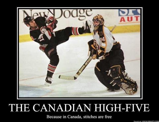 Canadian High-Five