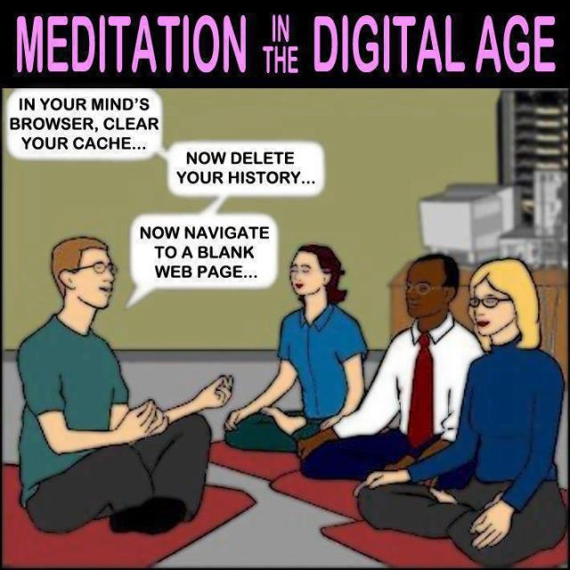 digital meditation