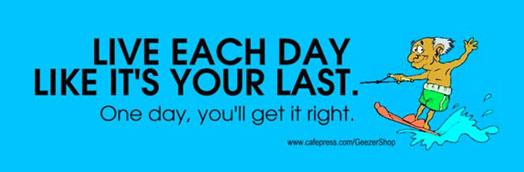 each day last