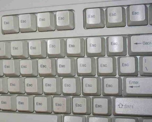 escape keyboard