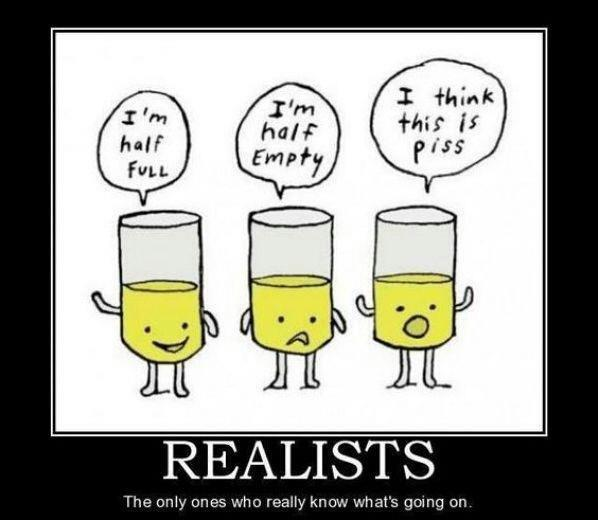 half full empty realists