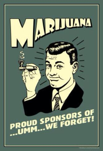 marijuana forget
