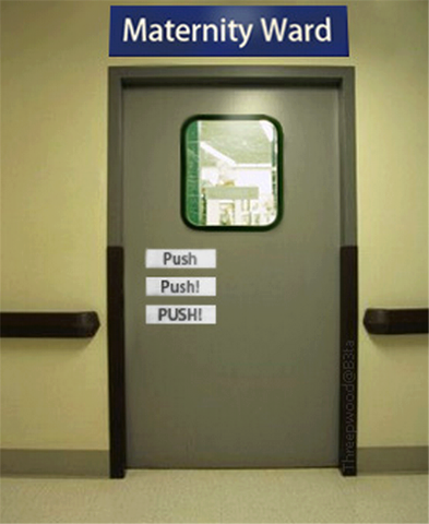 maternity ward push push
