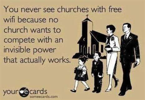 no churches wifi