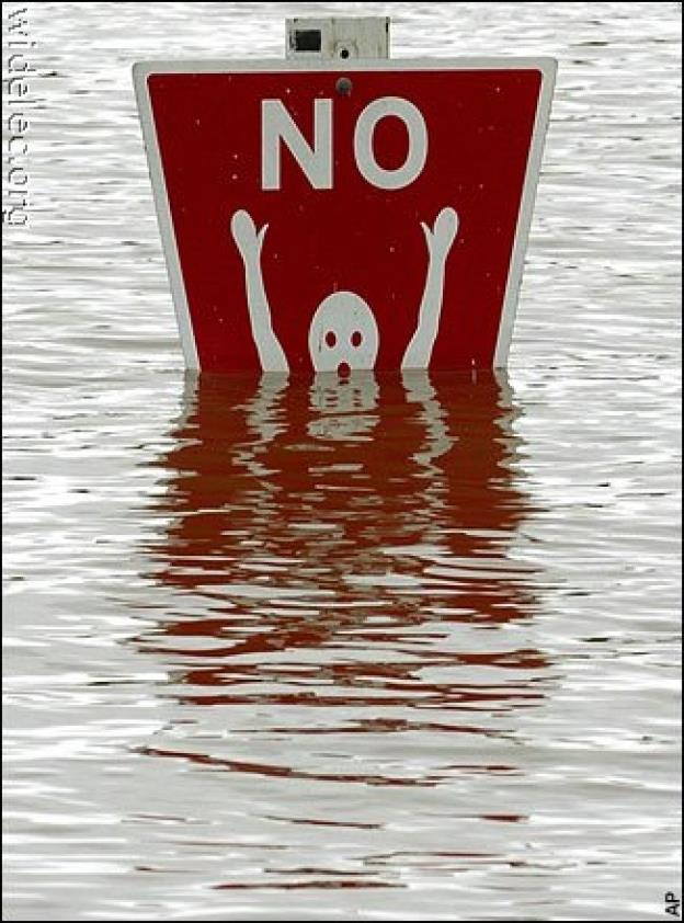no underwater