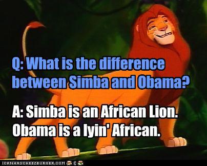 Obama Simba difference