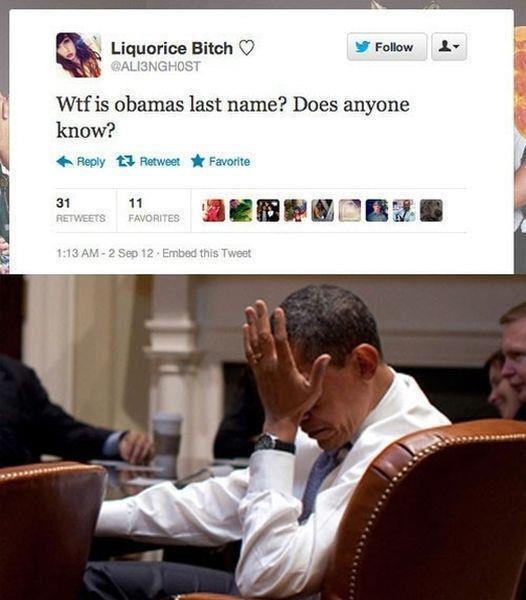 Obamas last name