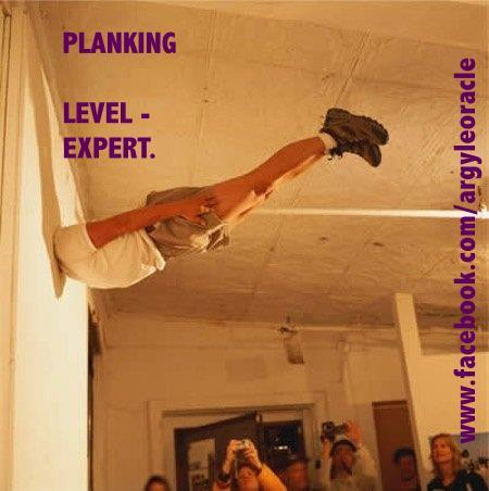 planking level - expert