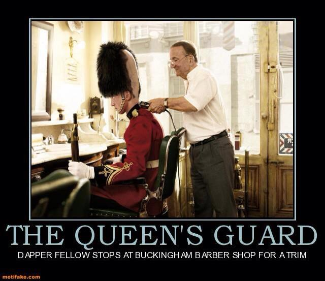 queens guard haircut
