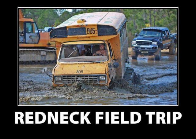 redneck field trip