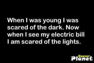 scared of dark