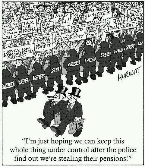 stealing police pensions
