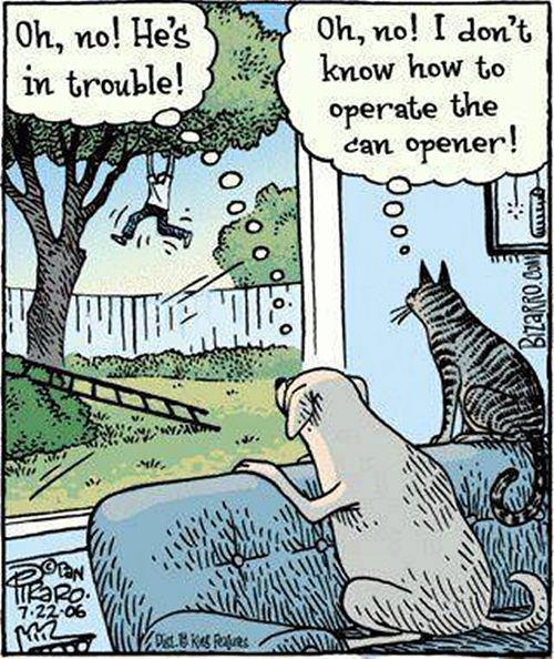 trouble can opener