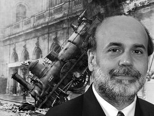 Bernanke train wreck