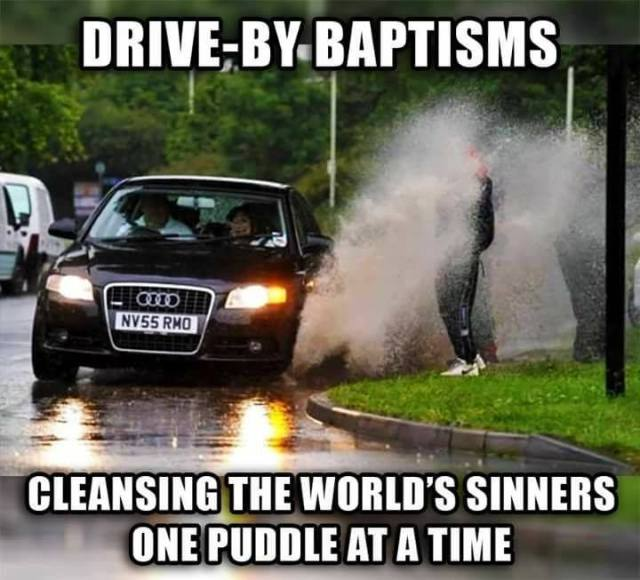 1 drive by baptism FB X