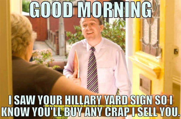 1 Salesman_Hillary_Crap X