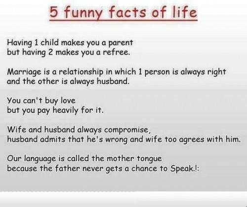 5 facts life X