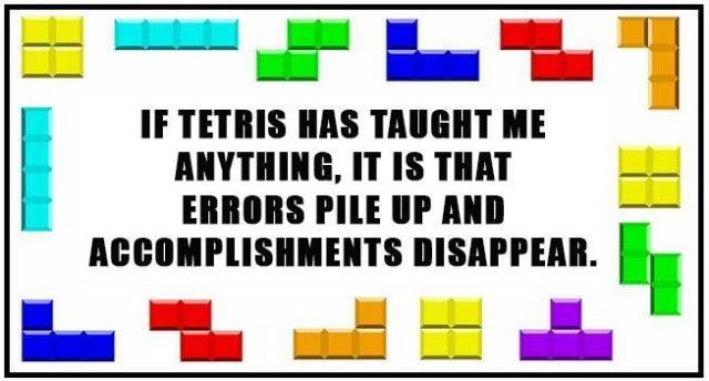 accomplishments disappear Tetris X