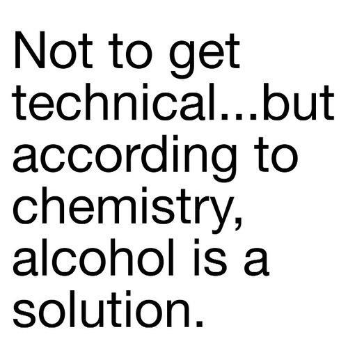 alcohol solution X