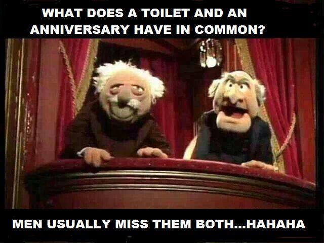 anniversay toilet
