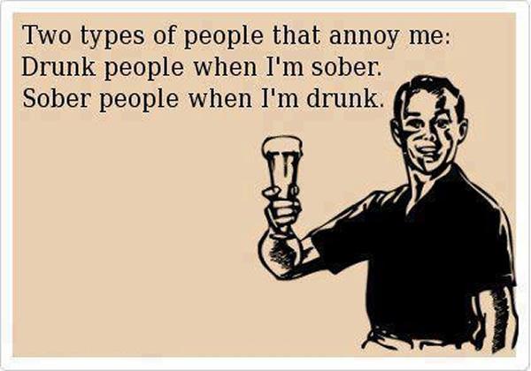 annoy drunk sober X