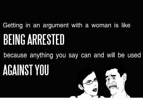 argue women X