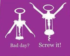 bad day screw it X