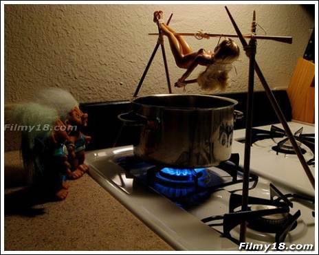Barbie boiled X