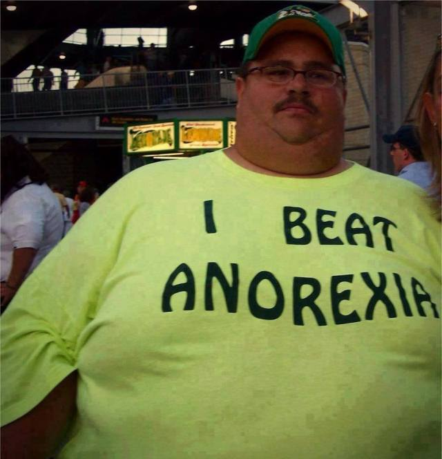 beat anorexia X
