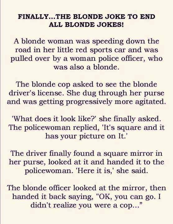 blond driver lisence mirror X