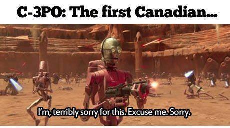 C-3PO Canadian X