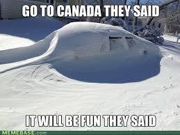 Canada fun they said