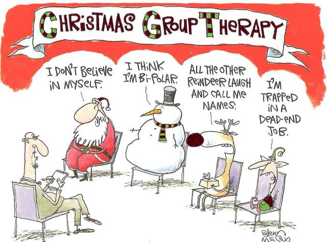 Christmas group therapy X