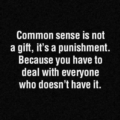 common sense X